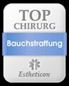 Estheticon Siegel Top Chirurg Bauchstraffung