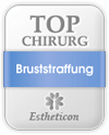 Estheticon Siegel Top Chirurg Bruststraffung