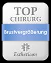 Estheticon Siegel Top Chirurg Brustvergrößerung