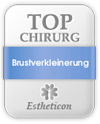 Estheticon Siegel Top Chirurg Brustverkleinerung