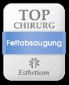 Estheticon Siegel Top Chirurg Fettabsaugung