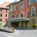 Eingangsbereich des roten Kreuz Krankenhaus