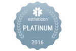 Estheticon Platinum Siegel 2016