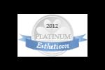 Estheticon Platinum Siegel 2012