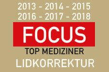 Dr. Magnus Noah ist Focus TOp Medizinier im Bereich Lidkorrektur