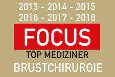 Focus Top Mediziner für Brustchirurgie in der Noahklinik Kassel