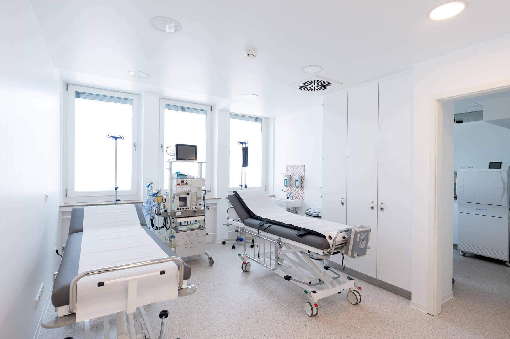 Aufwachraum Noahklinik Kassel