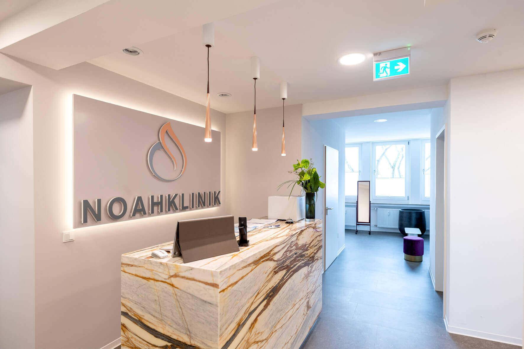 Anmeldung Noahklinik Kassel