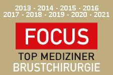 Focus-Auszeichnung Prof. Dr. Noah Brustchirurgie
